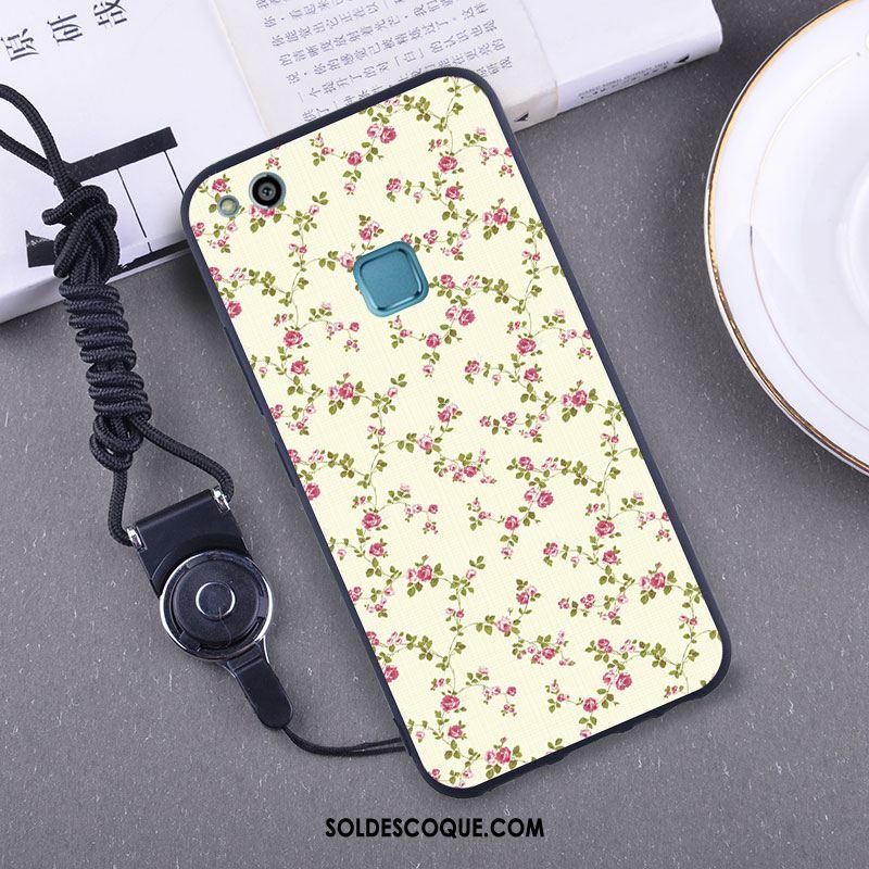 Coque Huawei P10 Lite Fluide Doux Protection Jeunesse Bleu Téléphone Portable Housse En Ligne