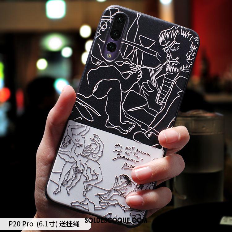 Coque Huawei P20 Pro Très Mince Tout Compris Fluide Doux Incassable Téléphone Portable En Ligne
