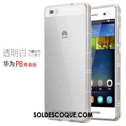 Coque Huawei P8 Ballon Tout Compris Transparent Tendance Silicone En Vente