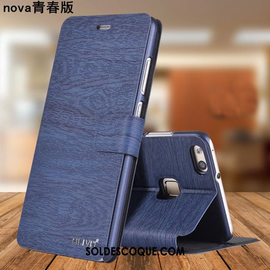 Coque Huawei P8 Lite 2017 Incassable Jeunesse Tendance Tout Compris Bleu Pas Cher