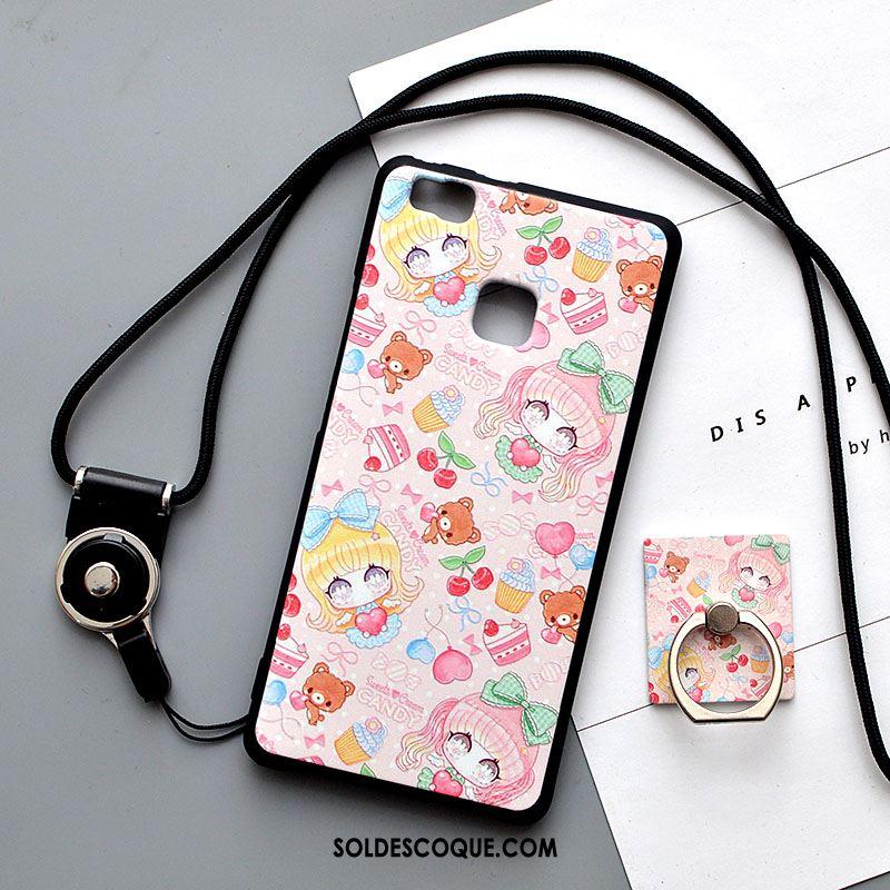 Coque Huawei P9 Lite Ornements Suspendus Protection Fluide Doux Support Jeunesse Soldes