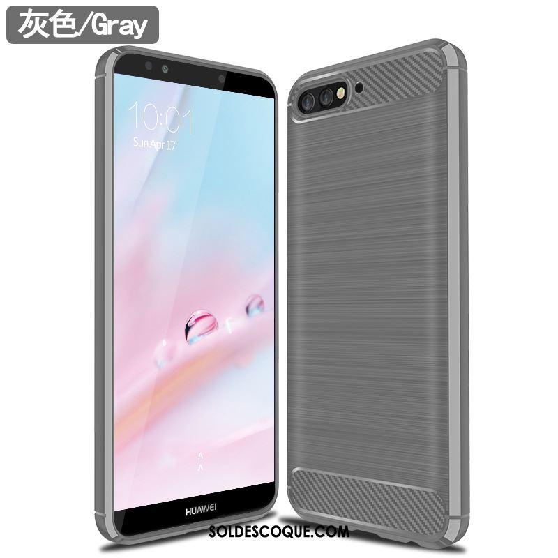 Coque Huawei Y6 2018 Créatif Protection Tendance Silicone Téléphone Portable Housse En Ligne