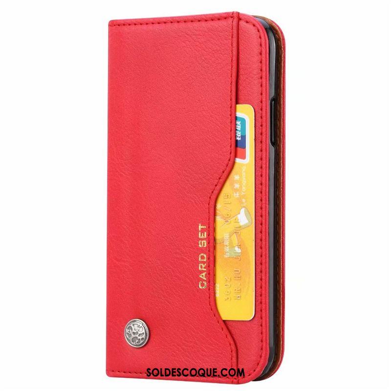 Coque Huawei Y6 2019 Classic Portefeuille Cuir Protection Téléphone Portable Housse En Vente
