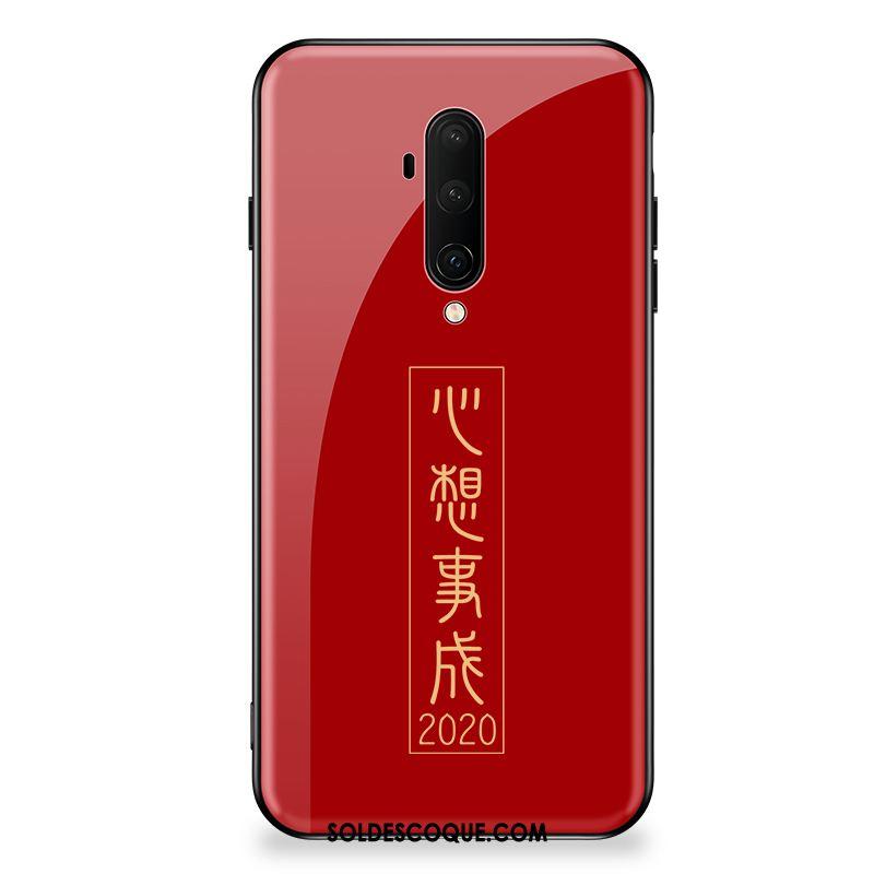 Coque Oneplus 7t Pro Incassable Nouveau Très Mince Téléphone Portable Protection Pas Cher