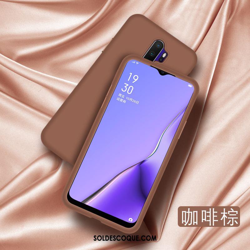 Coque Oppo A5 2020 Incassable Tempérer Silicone Téléphone Portable Fluide Doux Soldes