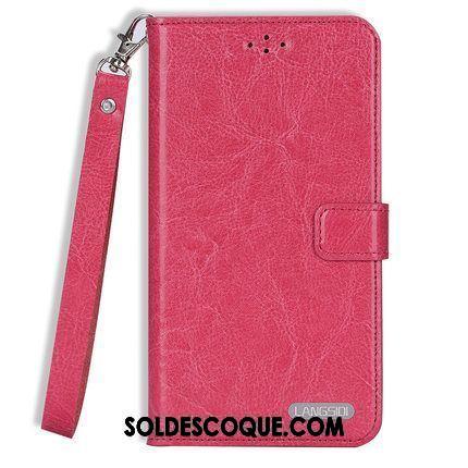 Coque Oppo Ax5 Rouge Clamshell Incassable Tout Compris Carte Housse France