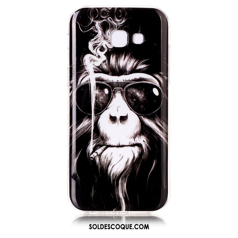 Coque Samsung Galaxy A5 2017 Violet Fluide Doux Téléphone Portable Silicone Incassable Housse Pas Cher
