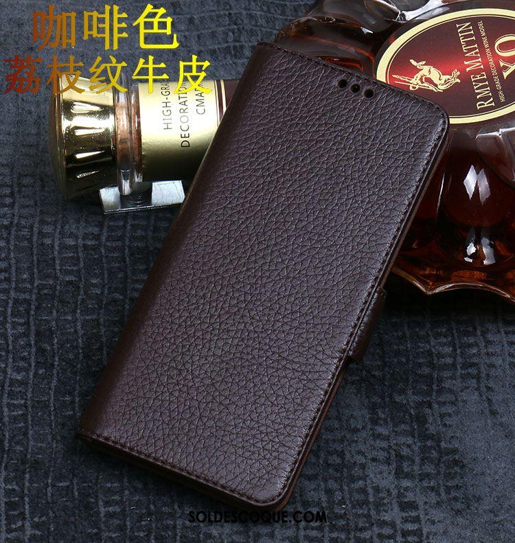Coque Samsung Galaxy A50 Téléphone Portable Étui En Cuir Incassable Résistant À L'usure Protection Housse Pas Cher