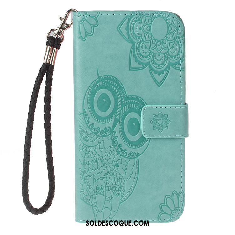 Coque Samsung Galaxy A7 2018 Téléphone Portable Gaufrage Protection Vert Étoile Soldes