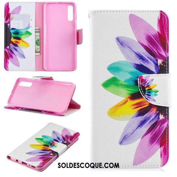 Coque Samsung Galaxy A70 Étui En Cuir Clamshell Incassable Dessin Animé Téléphone Portable Pas Cher