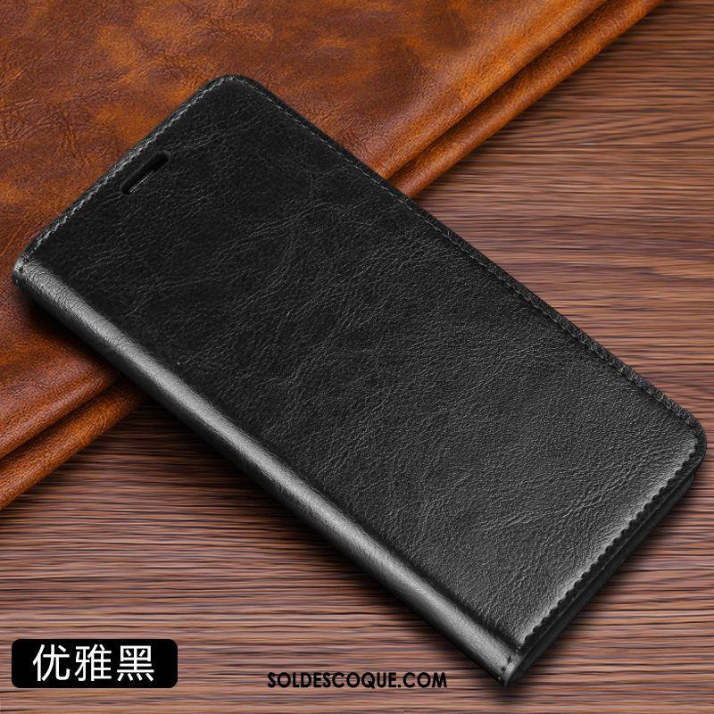 Coque Samsung Galaxy Note 10+ Étoile Téléphone Portable Tendance Noir Étui En Cuir En Vente