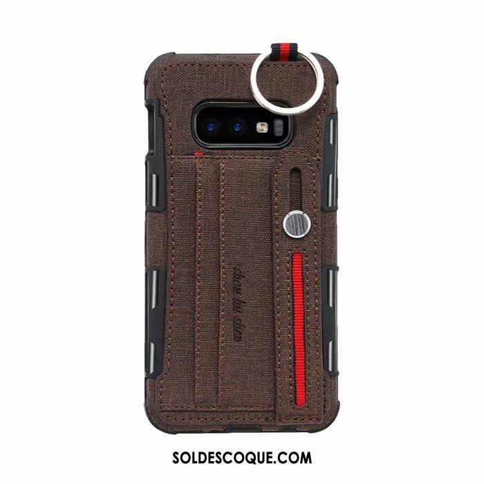 Coque Samsung Galaxy S10e Protection Carte Incassable Étoile Sac Carte Pas Cher