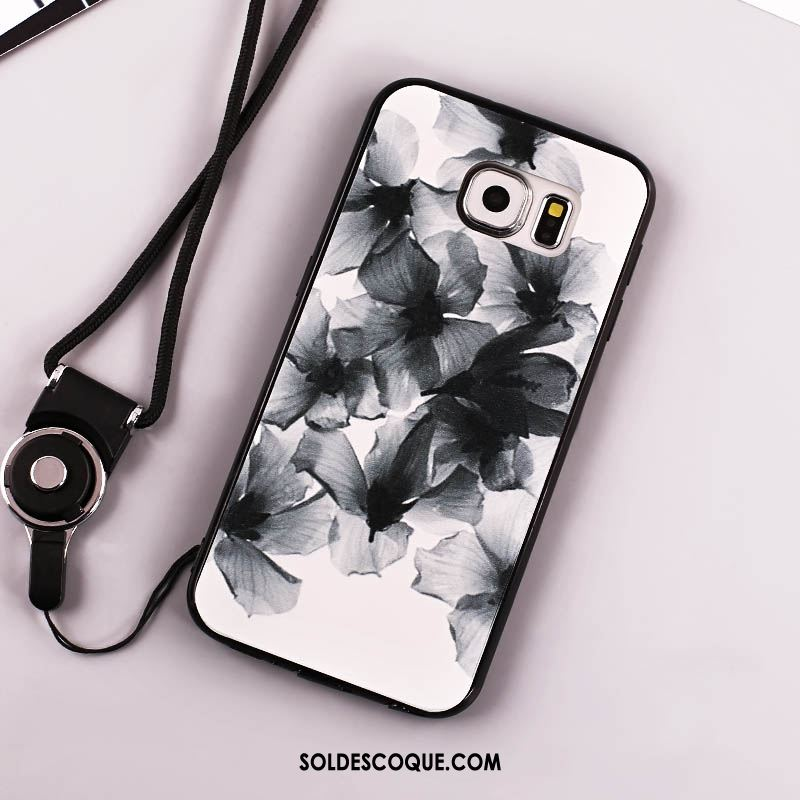 Coque Samsung Galaxy S6 Ornements Suspendus Étoile Tout Compris Téléphone Portable Incassable Soldes