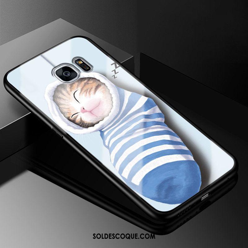 Coque Samsung Galaxy S7 Étoile Créatif Fluide Doux Étui Silicone Pas Cher
