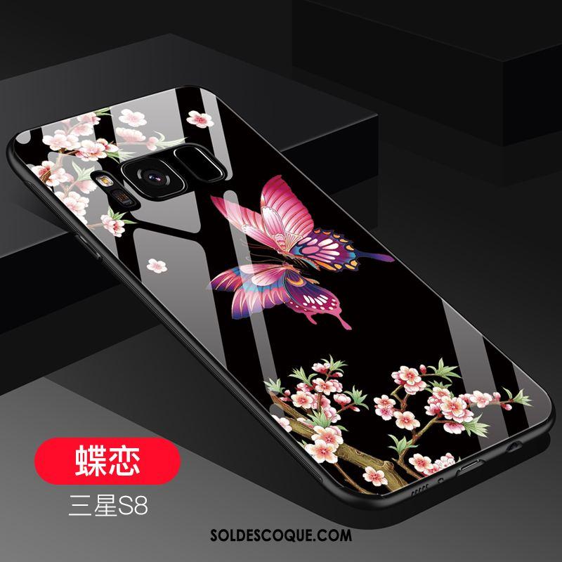 Coque Samsung Galaxy S8 Incassable Vert Tendance Verre Étoile En Vente