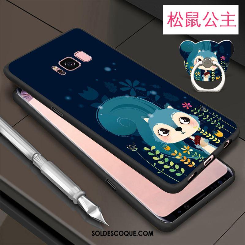 Coque Samsung Galaxy S8 Silicone Fluide Doux Tout Compris Très Mince Étui Pas Cher