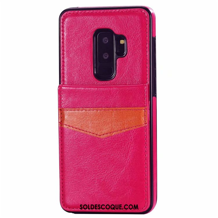 Coque Samsung Galaxy S9+ Créatif Étui En Cuir Étoile Sac Carte Téléphone Portable France