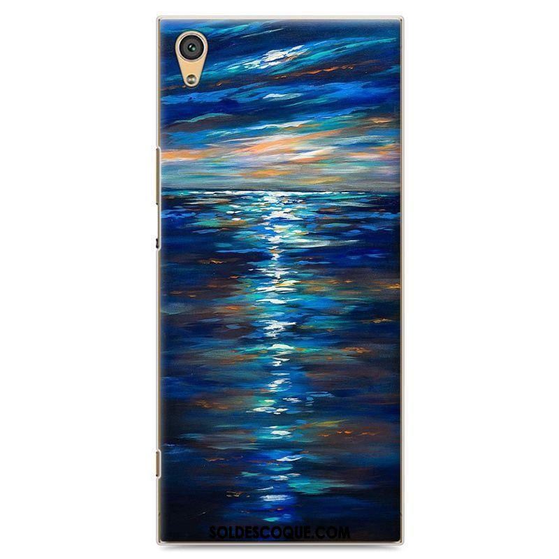 Coque Sony Xperia Xa Ultra Téléphone Portable Tendance Protection Personnalité Bleu Pas Cher
