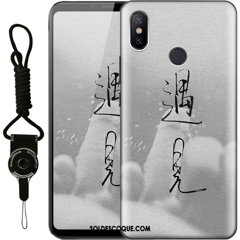Coque Xiaomi Mi Max 3 Incassable Personnalité Silicone Tout Compris Protection France