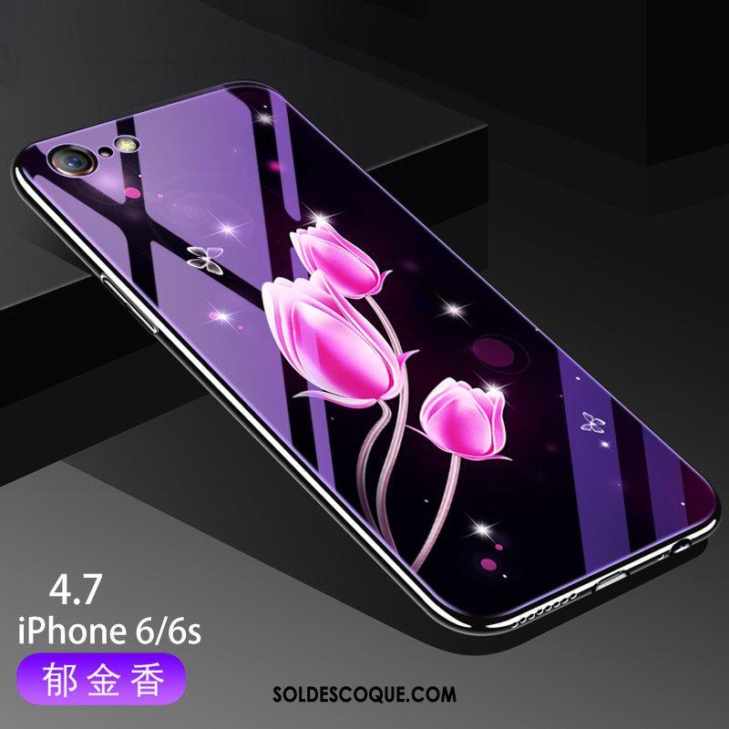 Coque iPhone 6 / 6s Créatif Téléphone Portable Protection Net Rouge Incassable En Ligne