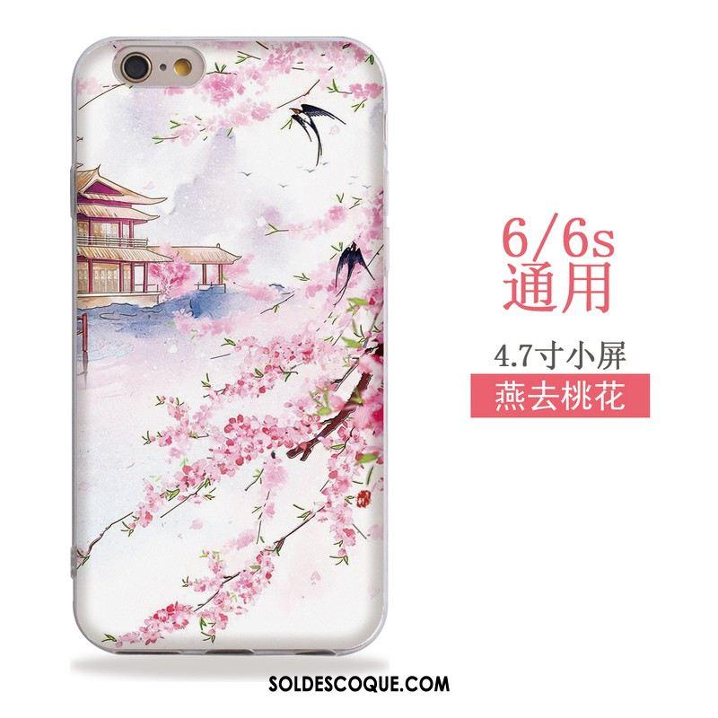 Coque iPhone 6 / 6s Fluide Doux Téléphone Portable Silicone Vent Étui Housse En Vente