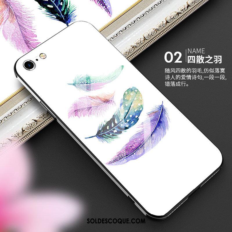 Coque iPhone 6 / 6s Plus Plume Mesh Incassable Nouveau Tendance Pas Cher