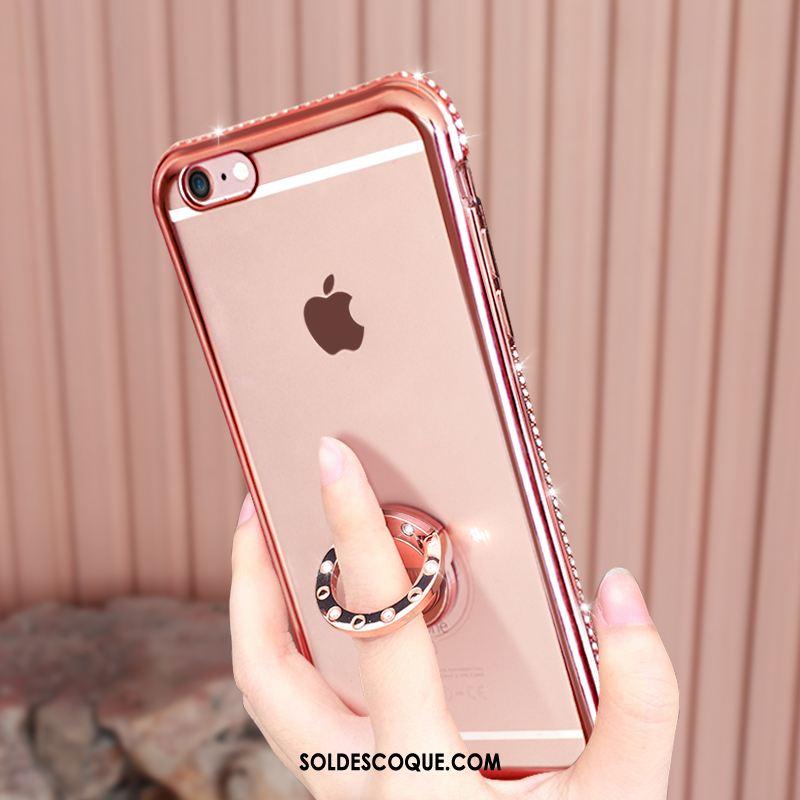 Coque iPhone 6 / 6s Téléphone Portable Étui Support Transparent Incassable Pas Cher