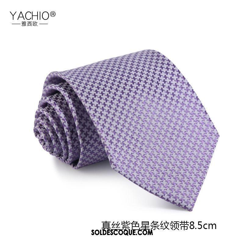 Cravate Homme 5cm Vêtements De Cérémonie Soie Soie Mulberry Boite Cadeau En Vente