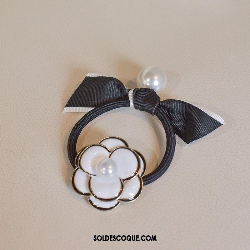 Fleur De Tête Femme Corde Tête Perle Métal Fleur Cercle Des Cheveux En Vente