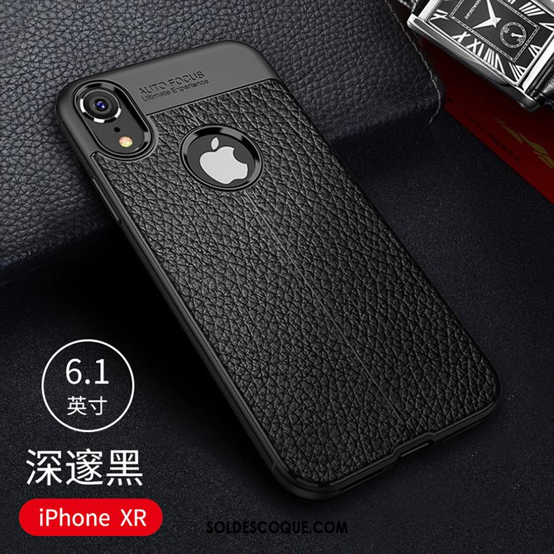 Coque iPhone Xr Protection Nouveau Silicone Marque De Tendance Téléphone  Portable France