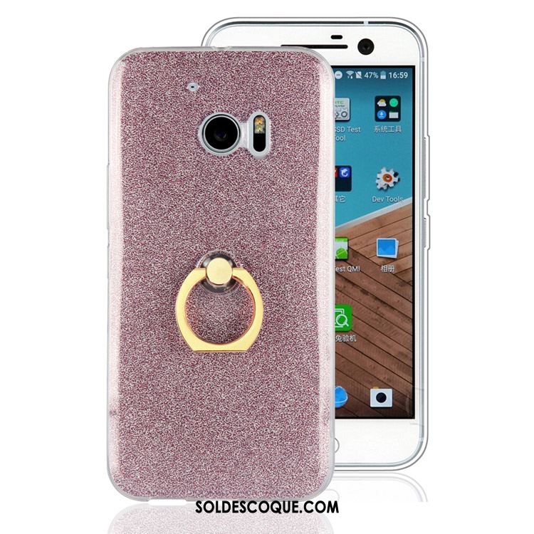 Coque Htc 10 Rose Ornements Suspendus Protection Incassable Étui En Vente