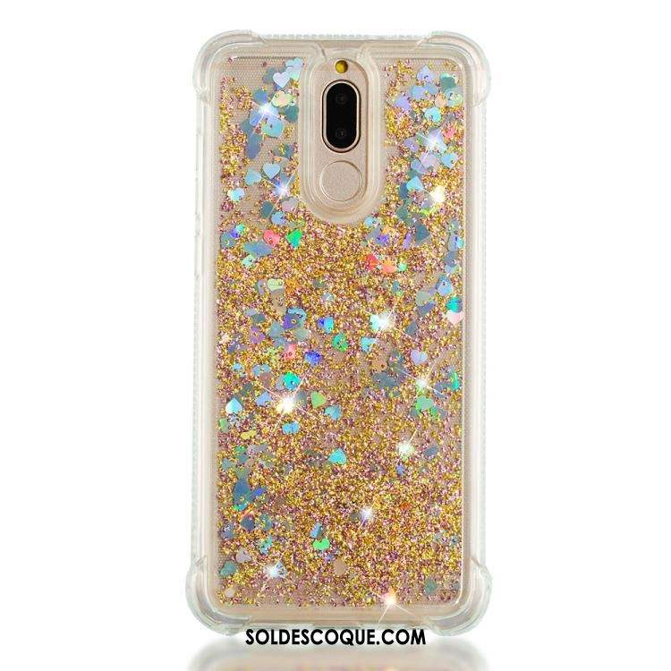 Coque Huawei Mate 10 Lite Fluide Doux Protection Incassable Rose Quicksand En Ligne