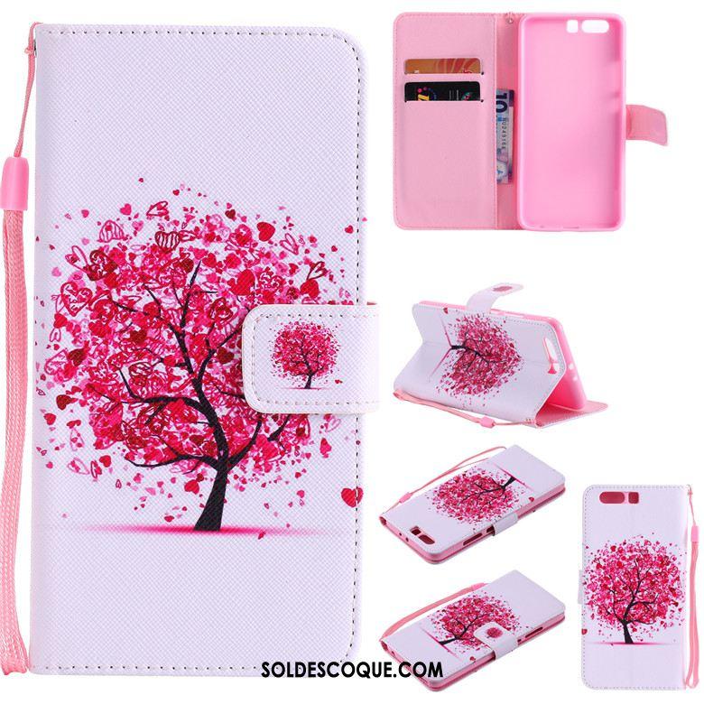 Coque Huawei P10 Lite Jeunesse Clamshell Protection Blanc Téléphone Portable Soldes
