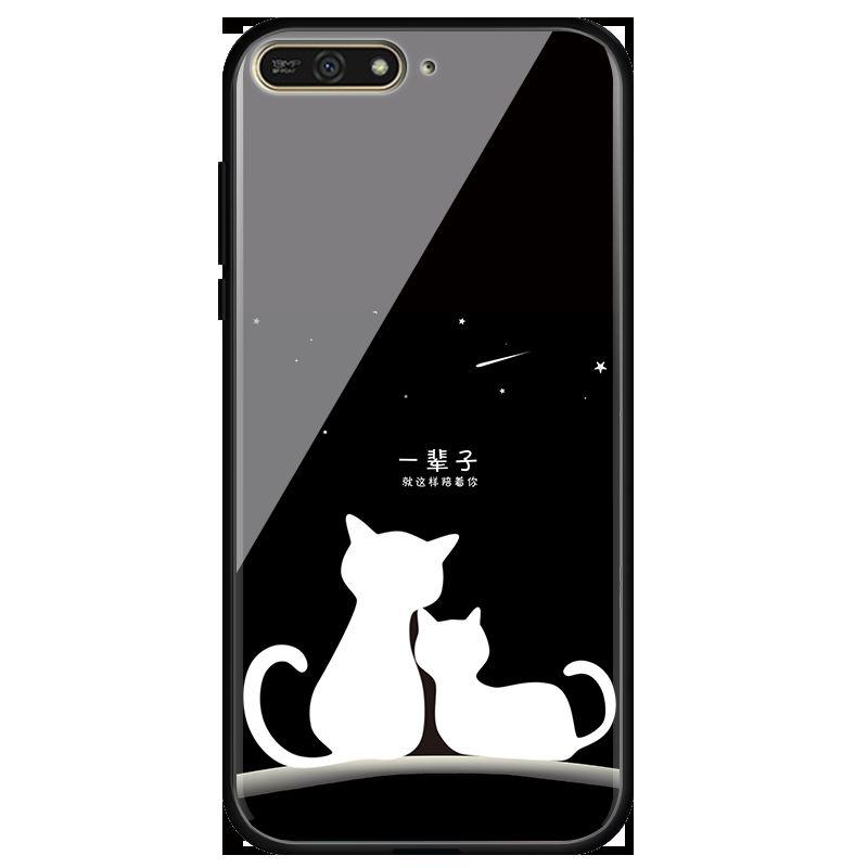 coque huawei y6 2018 cat