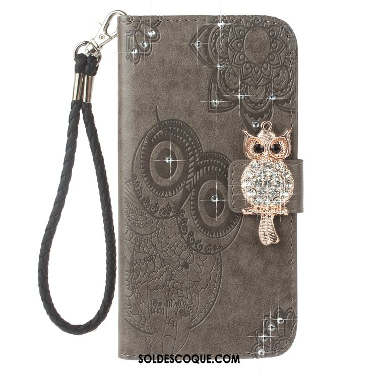 Coque Huawei Y6 Pro 2017 Étui En Cuir Incassable Clamshell Dessin Animé Protection France