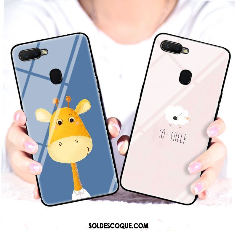 Coque Oppo F9 Longue Personnalité Cerf Silicone Animal Pas Cher