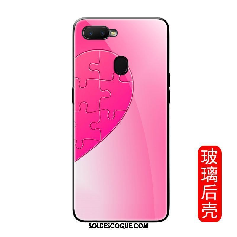 Coque Oppo F9 Starry Incassable Personnalité Créatif Rouge Silicone France