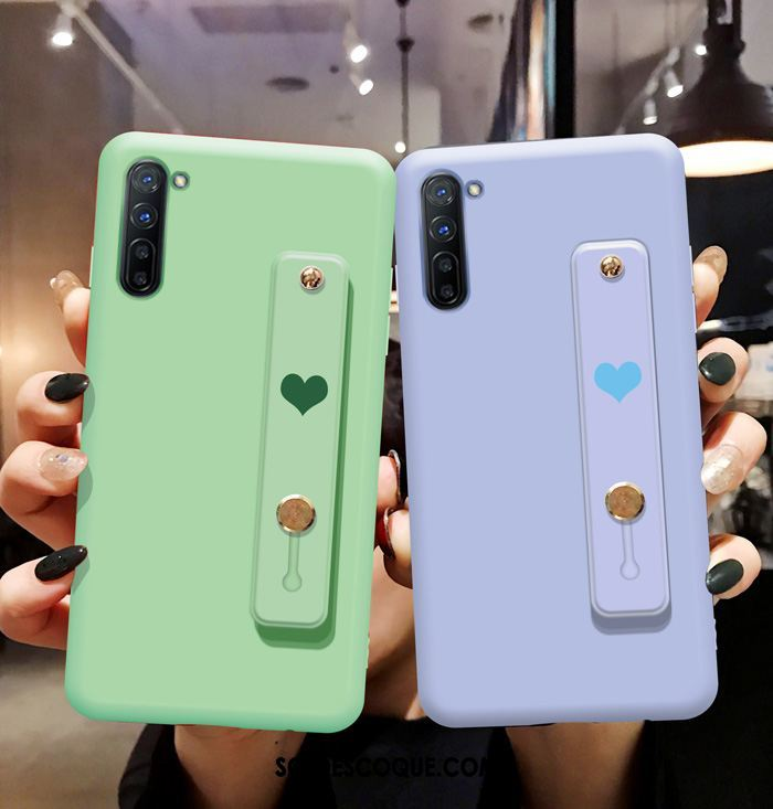Coque Oppo Reno 3 Net Rouge Téléphone Portable Tendance Silicone Vert Soldes