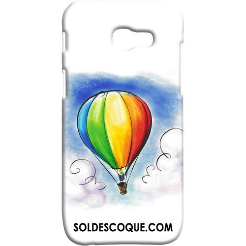 Coque Samsung Galaxy A5 2017 Incassable Délavé En Daim Paysage Multicolore Protection En Vente