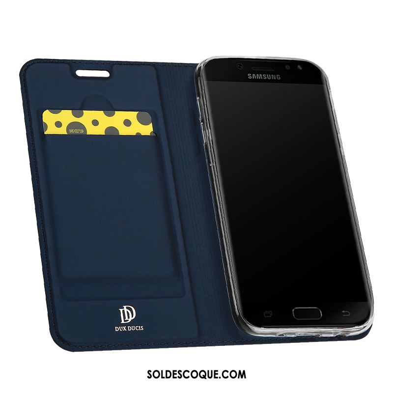 Coque Samsung Galaxy J5 2017 Bleu Téléphone Portable Étoile Étui En Vente