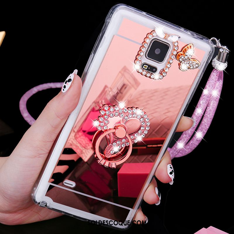 coque samsung a70 or rose