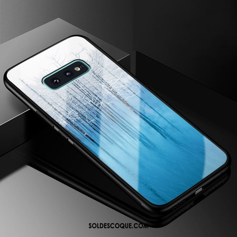 Coque Samsung Galaxy S10e Europe Téléphone Portable Étui Verre Étoile Pas Cher