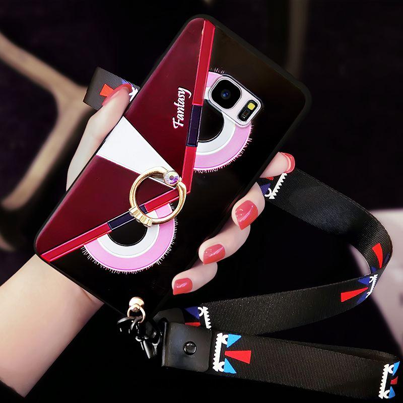 Coque Samsung Galaxy S7 Edge Tendance Personnalité Fluide Doux Téléphone Portable Étoile Housse Pas Cher