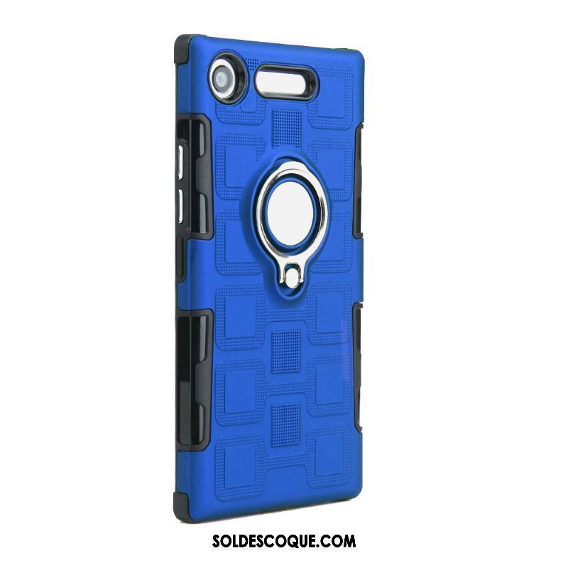 Coque Sony Xperia Xz1 Compact Téléphone Portable Protection Support Bleu Incassable France