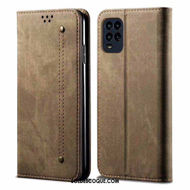Coque Xiaomi Mi 10 Lite Business Kaki Protection Incassable Jeunesse France