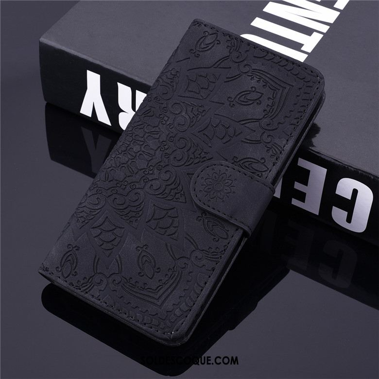 Coque Xiaomi Mi 9 Lite Clamshell Protection Totem Noir Petit France