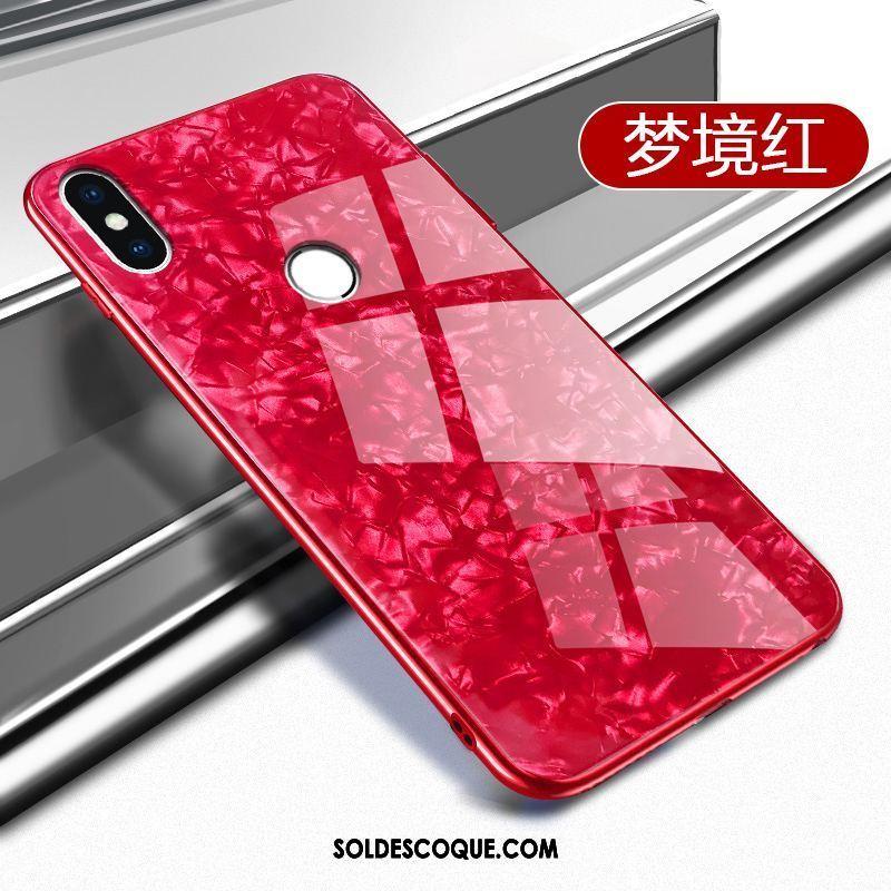 Coque Xiaomi Mi A2 Protection Petit Net Rouge Légère Ornements Suspendus France