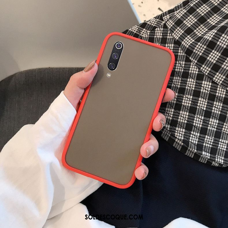 Coque Xiaomi Mi A3 Étui Transparent Jeunesse Rouge Petit France