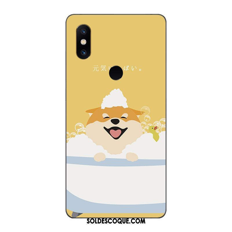 Coque Xiaomi Redmi S2 Étui Rouge Petit Charmant Protection En Vente
