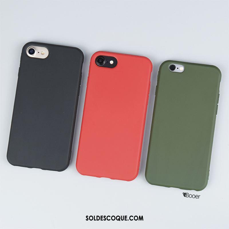 Coque iPhone 6 / 6s Fluide Doux Europe Vert Silicone Incassable Soldes